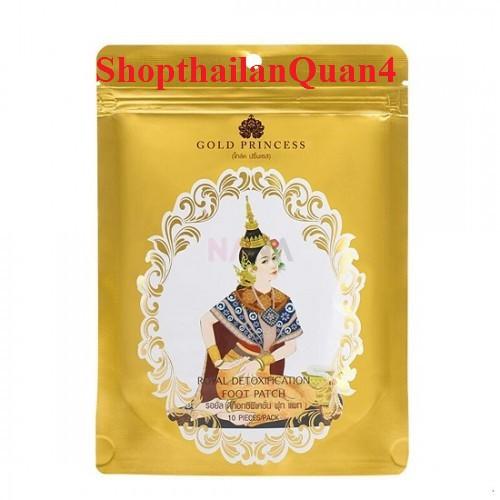 (HCM) Miếng dán thải độc chân Gold Princess Thái Lan
