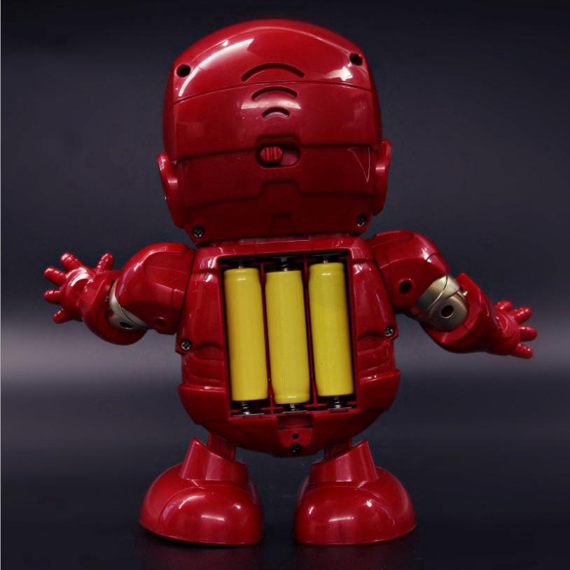 Đồ chơi robot nhảy múa phát nhạc cho bé