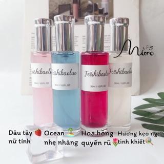 Nước hoa nhũ óng ánh hãng Feishibaoluo nội địa trung 4 mùi thơm nhẹ nhàng lưu hương lâu dung tích 30ml thumbnail