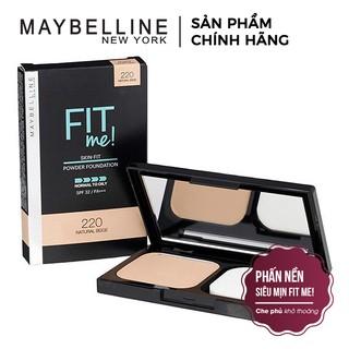 [CHÍNH HÃNG] Phấn Nền Maybelline Fit Me Skin-Fit Powder Foundation 9gr Siêu Mịn Màng PM714 thumbnail