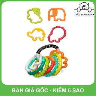 FREE SHIP !!! Đồ chơi cầm tay trẻ em Set vòng nhiều màu sắc Infantino 206158 – Hàng chính hãng