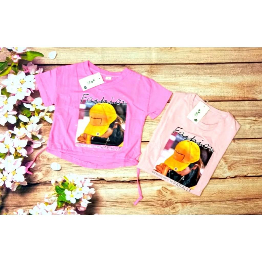 Áo phông bé gái, cotton 100% ( Quảng Châu loại 1) - QUẦN ÁO TRẺ EM