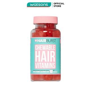 Thực Phẩm Chức Năng Hairburst Chewable Hair Vitamins Kẹo Dẻo Kích Thích Mọc Tóc 60 Viên 96g thumbnail