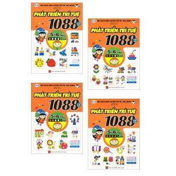 Sách - 1080 câu đố phát triển trí tuệ 5 - 6 tuổi (bộ 4 quyển) - 2722301 , 550136256 , 322_550136256 , 180000 , Sach-1080-cau-do-phat-trien-tri-tue-5-6-tuoi-bo-4-quyen-322_550136256 , shopee.vn , Sách - 1080 câu đố phát triển trí tuệ 5 - 6 tuổi (bộ 4 quyển)