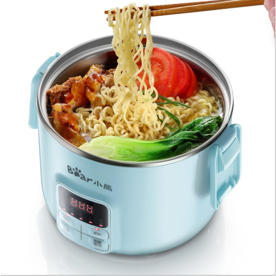 Hộp cơm cắm điện hẹn giờ DFH-B20J1, sử dụng để nấu, giữ nhiệt và hâm nóng thức ăn