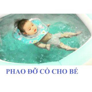 Phao đỡ cổ cho bé tập bơi.