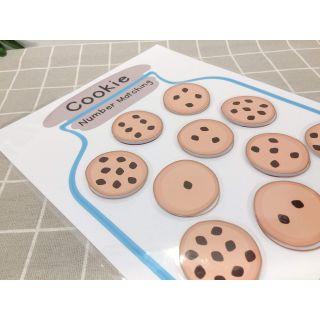 Đồ chơi Đếm số bánh quy