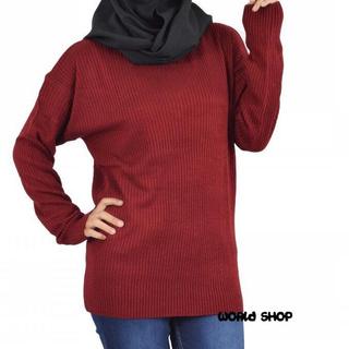Áo Sweater Dệt Kim Phong Cách Hàn Quốc Trẻ Trung