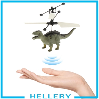[HELLERY] Mini USB Flying Dinosaur Toys Children Smart Helicopter Aircraft Toy Gifts
