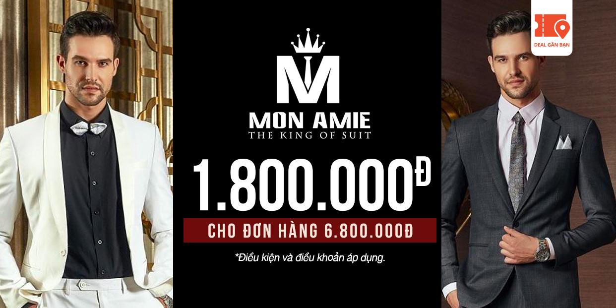 E-Voucher Mon Amie 1.800.000đ cho đơn hàng 6.800.000đ