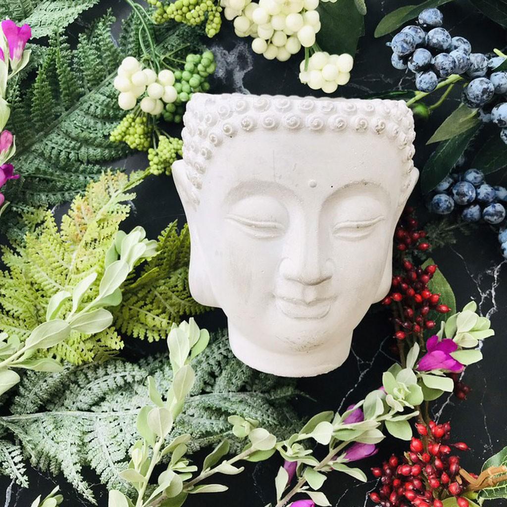 Nến thơm thờ cúng hình Phật Tổ cao cấp Lumos (BUDDHA) Nến sáp tự nhiên Xuất Khẩu không khói an toàn - NT125