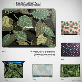 Skin dán Laptop Asus in hình Hoa văn sticker bộ 25 (inbox mã máy cho Shop) thumbnail