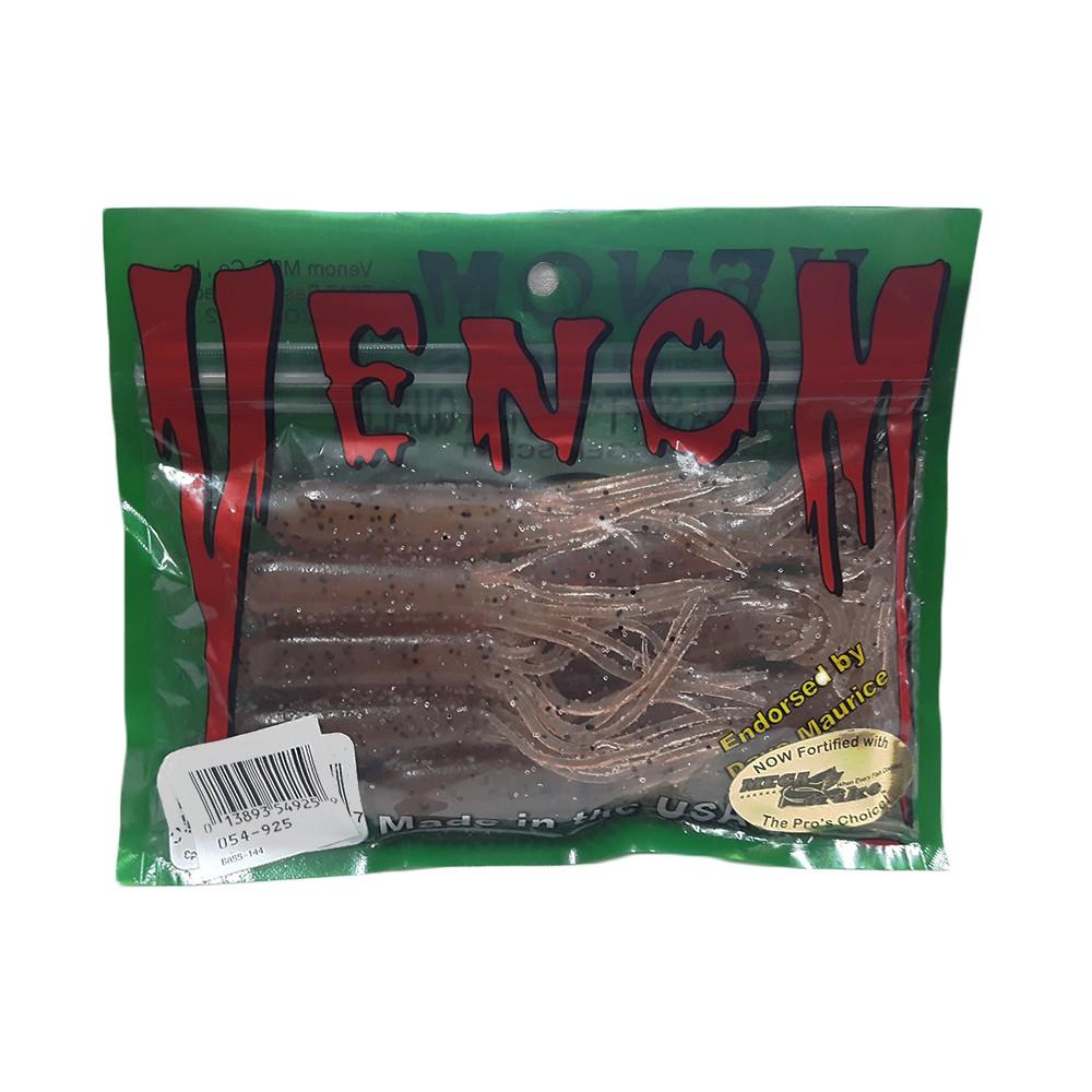 Bộ 8 mồi ống tẩm muối và hương thơm dài 10.2 cm Venom