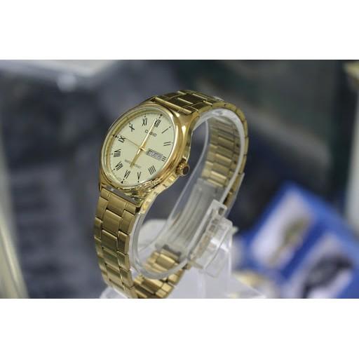 Đồng hồ nữ Casio LTP-V006G-9BUDF Chính hãng - Dây mạ vàng