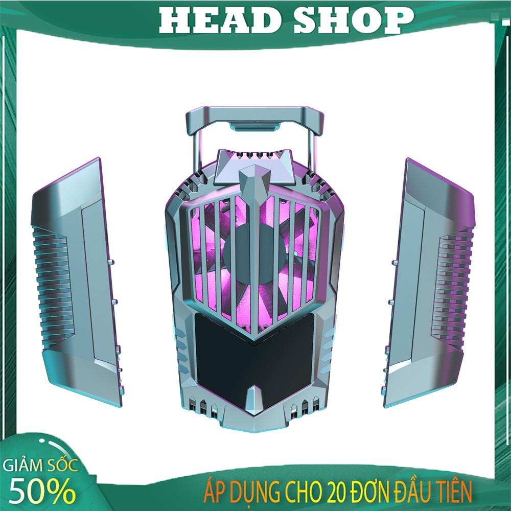 Quạt tản nhiệt gaming 2 PIN SẠC sò lạnh cho điện thoại X3A siêu mát HEAD SHOP
