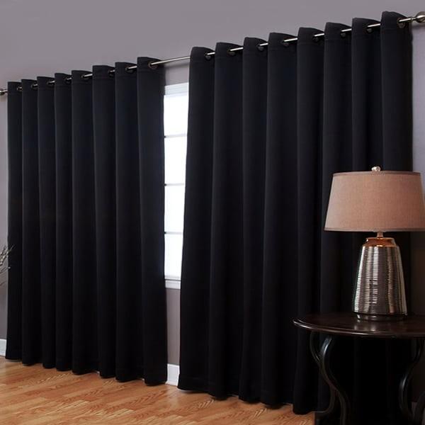 Rèm cửa màu màu đen, rèm màu màu đen, rèm cửa sổ màu màu đen, rèm cửa giá rẻ màu màu đen