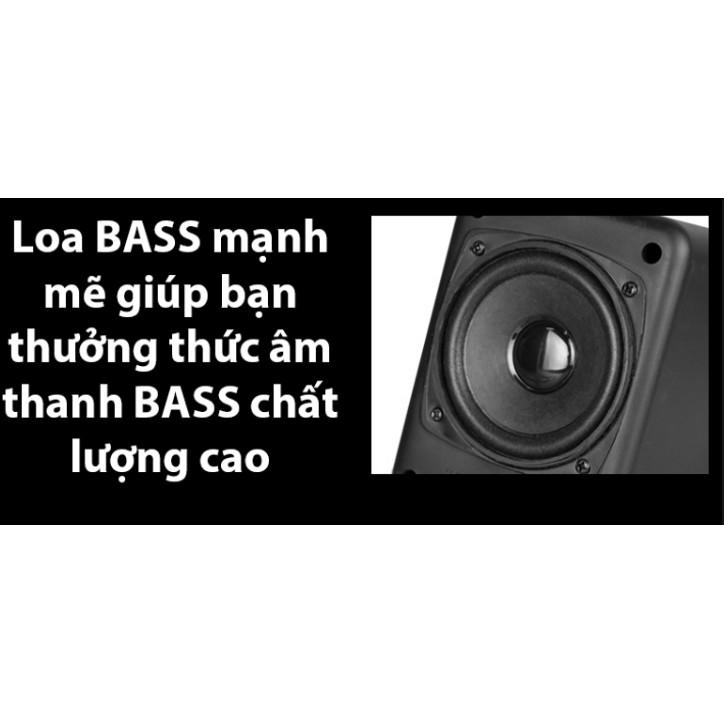Bộ Loa Vi Tính, Máy Tính Sada-202 Cao Cấp Âm Bass Siêu Khủng, Nghe Nhạc Cực Đã