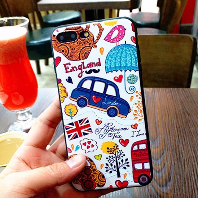 [RẺ VÔ ĐỊCH] Ốp lưng London 3D - Iphone 5/5S/SE