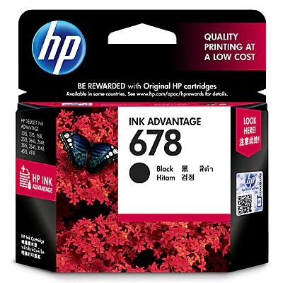 Mực in HP 678 Black Ink Cartridge (CZ107AA) – Hàng Chính Hãng Giá chỉ 219.000₫