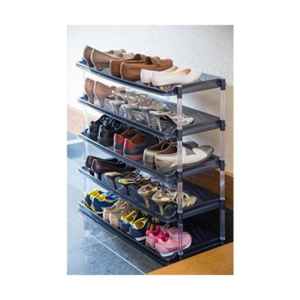 Kệ để giày 5 tầng màu đen-Hàng sản xuất tại Nhật - 2973786 , 691400127 , 322_691400127 , 760000 , Ke-de-giay-5-tang-mau-den-Hang-san-xuat-tai-Nhat-322_691400127 , shopee.vn , Kệ để giày 5 tầng màu đen-Hàng sản xuất tại Nhật
