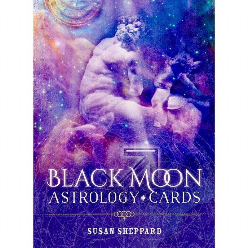 (Sách tiếng việt) Bộ bài oracle Black moon astrology card tarot