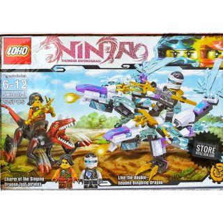 Lego NinjaGo Ráp Robo Ninja Rồng , Khủng Long ( 235 Mảnh )