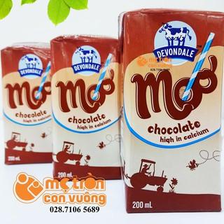 Sữa tươi Devondale vị socola 1 hộp 200ml thumbnail