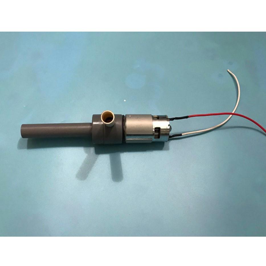 Bơm nước chế từ motor 775 150w 18000rpm