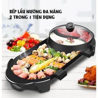 Bếp lẩu nướng đa năng 2 trong 1 hàng nội địa Trung