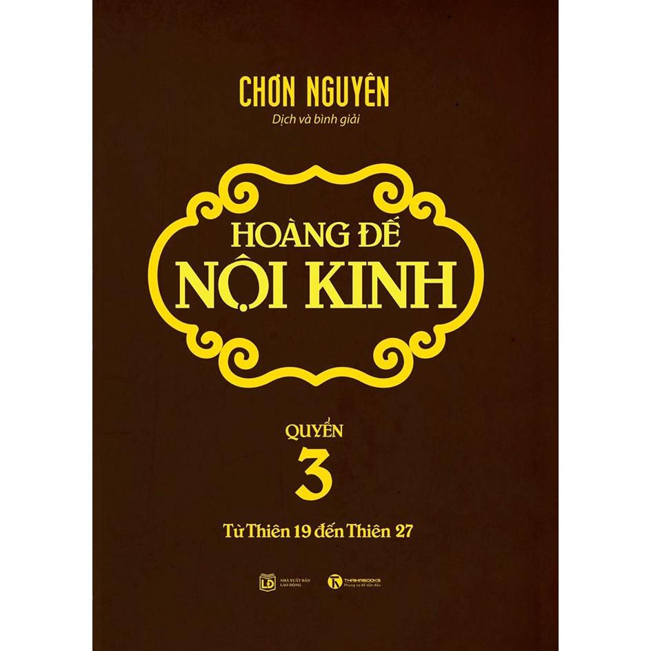 [ Sách ] Hoàng Đế Nội Kinh - Quyển 3