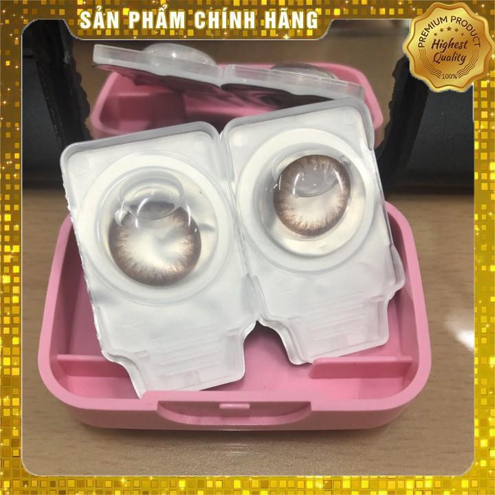 [Hàn Quốc chính hãng] Kính áp tròng (1 Hộp 10 Chiếc) có độ cận từ 0.0 đến 6.0 – Lens mắt thời trang Ann Choco 1 Ngày