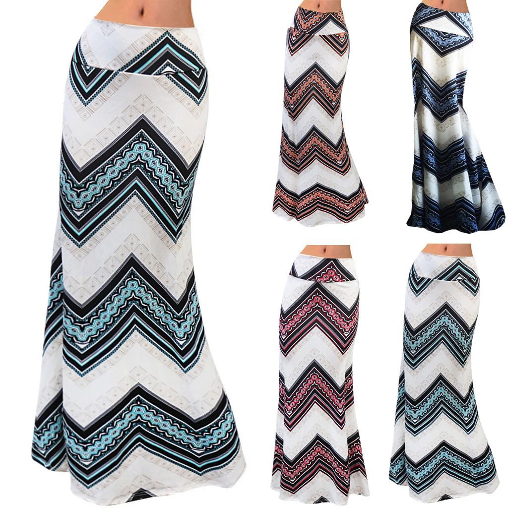 2620265361 - Chân váy maxi dài màu trơn thời trang nữ tính