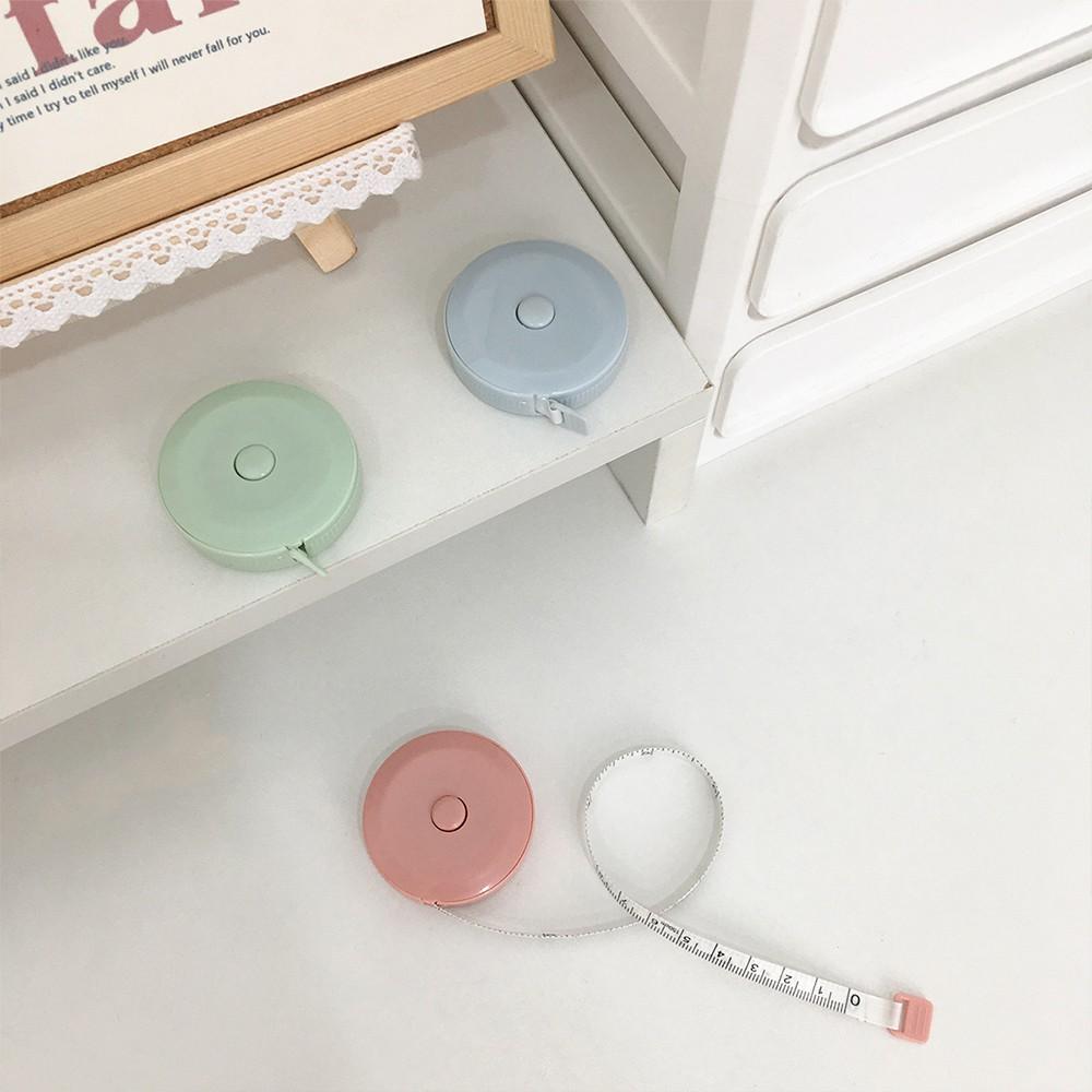 Thước dây mini ba chiều mềm mại nhiều màu sắc đơn giản