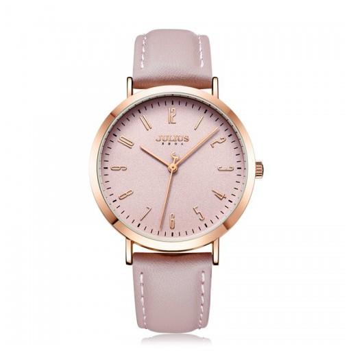 Đồng hồ nữ Julius Hàn Quốc JA-1017D dây da (