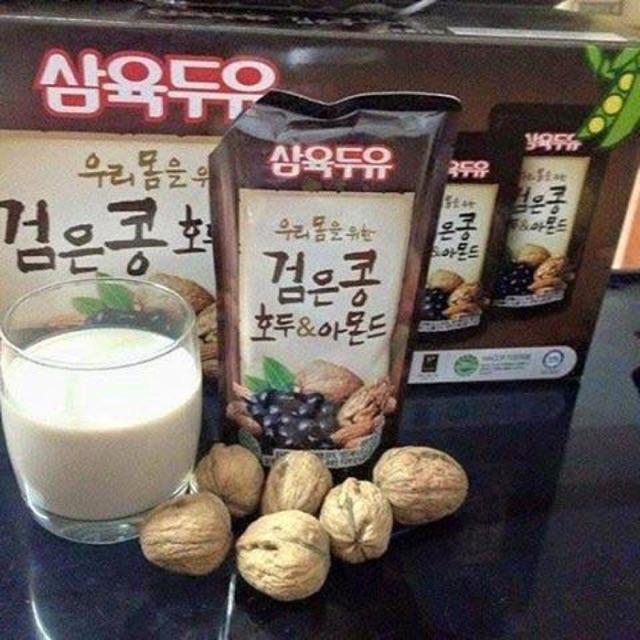 Combo 2 thùng sữa óc chó hạnh nhân đậu đen Hàn Quốc - 3058779 , 422624067 , 322_422624067 , 494000 , Combo-2-thung-sua-oc-cho-hanh-nhan-dau-den-Han-Quoc-322_422624067 , shopee.vn , Combo 2 thùng sữa óc chó hạnh nhân đậu đen Hàn Quốc