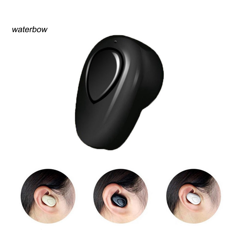 waterbow Mini Wireless Bluetooth V4.1 Earphone Sport Headphone with Mic for Smart Phone - 15452884 , 2650330659 , 322_2650330659 , 137000 , waterbow-Mini-Wireless-Bluetooth-V4.1-Earphone-Sport-Headphone-with-Mic-for-Smart-Phone-322_2650330659 , shopee.vn , waterbow Mini Wireless Bluetooth V4.1 Earphone Sport Headphone with Mic for Smart P
