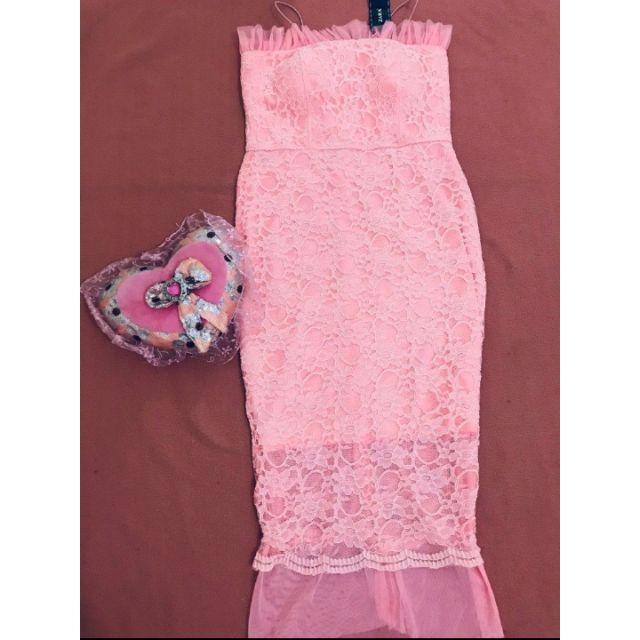 Váy ren body Zara thanh lý