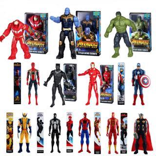 Mô hình hoạt hình nhân vật phim Avengers bằng PVC