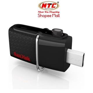 USB 3.0 SanDisk Ultra Dual 16GB / 32GB / 64GB / 128GB / 256GB Read 150MB/s (Đen)