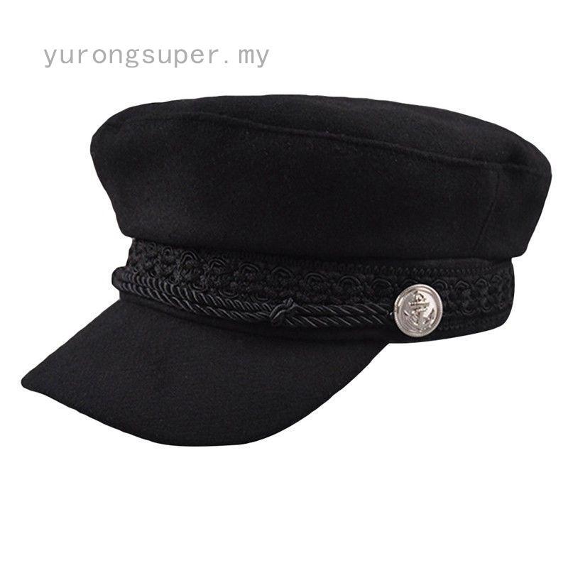 Mũ Beret Vải Nỉ Màu Trơn Thời Trang Cho Nữ