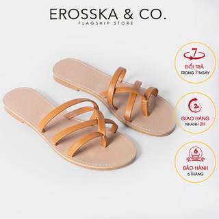 Dép nữ xo ngo n thời trang Erosska thiết kế phối dây che o phong ca ch trẻ trung ma u bo _ DE031 thumbnail