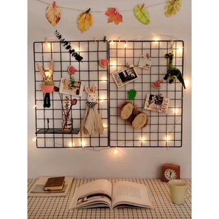 Tấm Lưới sắt thép lắp ghép TẶNG KÈM CHỐT đa năng giá để sách, đồ trang trí, chuồng quây chó mèo thumbnail