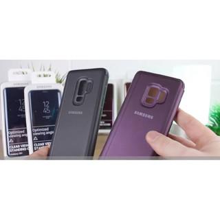 Bao da Samsung S8 tráng gương cao cấp clear view