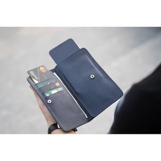 [Da Thật] Ví nam đựng điện thoại Clément – CM010 – BH 12 tháng – Full box