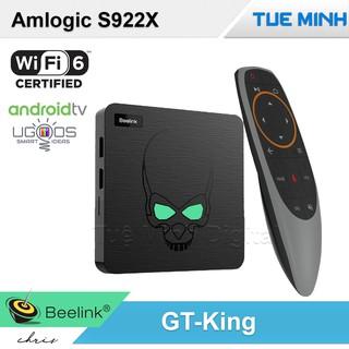 [Mã 267ELSALE hoàn 7% đơn 300K] Android TV Box Beelink GT-King – Wifi6, Amlogic S922x, Ram 4GB, Bộ nhớ 64GB, Android 9