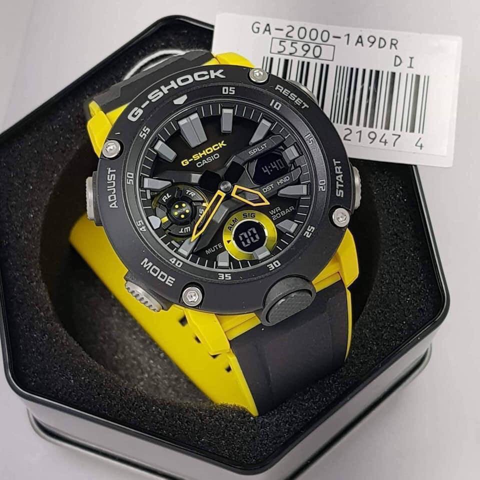 Đồng hồ Casio nam chính hãng Anh Khuê G-SHOCK GA-2000