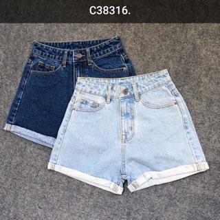 Short jeans lưng cao Levis ( hình thật)
