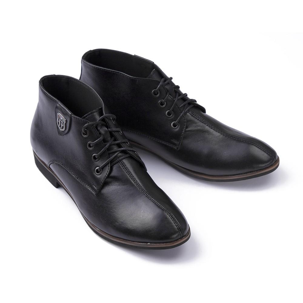 Giày da nam cao cổ, lịch lãm tăng chiều cao SMARTMEN GD-111-Đen - 3299151 , 396713742 , 322_396713742 , 950000 , Giay-da-nam-cao-co-lich-lam-tang-chieu-cao-SMARTMEN-GD-111-Den-322_396713742 , shopee.vn , Giày da nam cao cổ, lịch lãm tăng chiều cao SMARTMEN GD-111-Đen