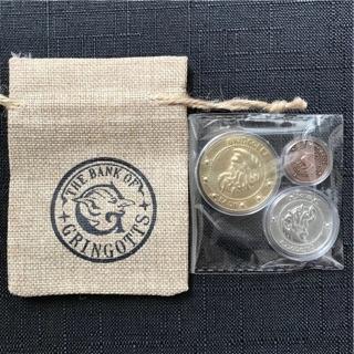 Combo 3 đồng xu Harry Potter kèm túi như hình