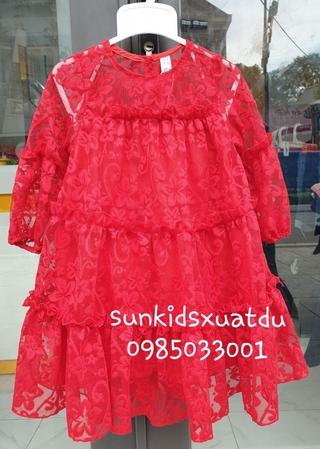 Váy sofia ren Hàn cao cấp ĐỎ